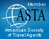 Member of American Society of Travel Agents