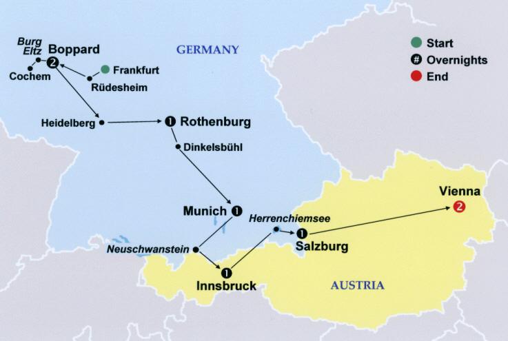 Best Of Germany Austria - Austria germany map