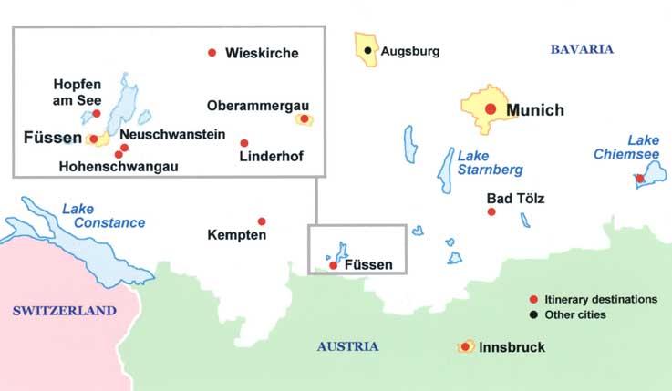 Salzburg Christmas Market Map.Bavarian Christmas Markets Tour